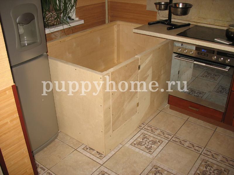 Благодаря возможности изготавления манежа для щенков по индивидуальным размерам, Вы можете разместить его в любом месте